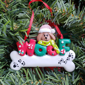 Dog Woof Ornament