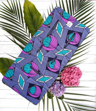 MILIKAI CO Handmade In Australia 100% Cotton Compact Stroller Liner African Ankara Diamonds and Pearls $60