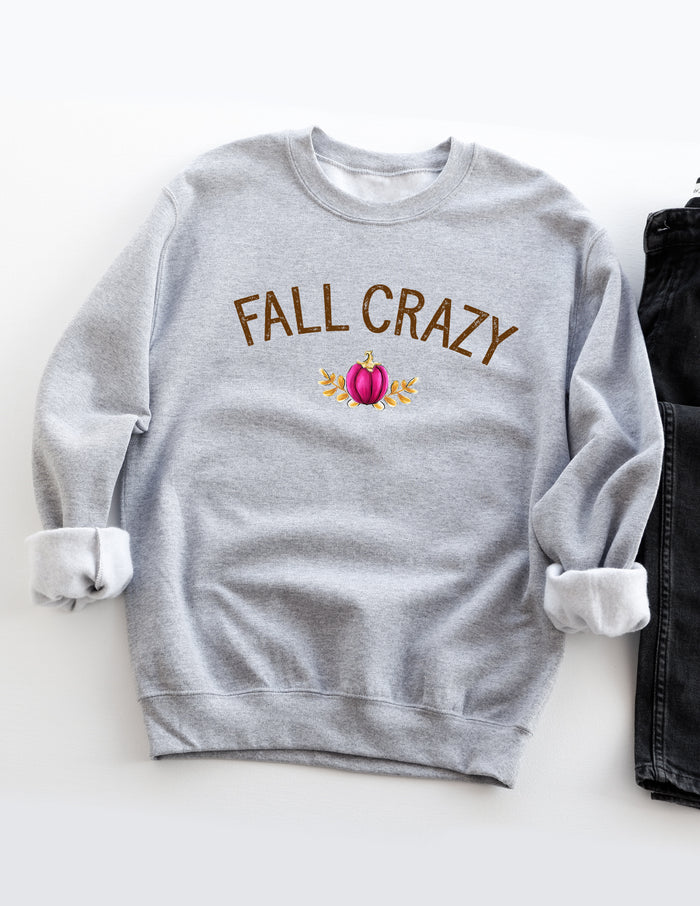 kara ashley, sweatshirt, illustration, fall, crazy, pumpkin