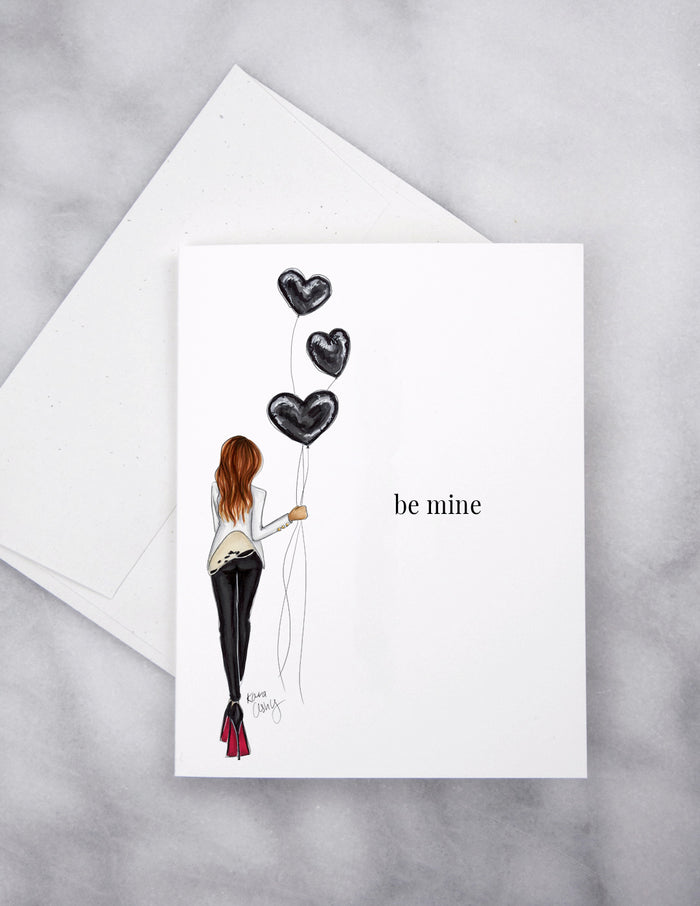 Be Mine Rocker Greeting Card
