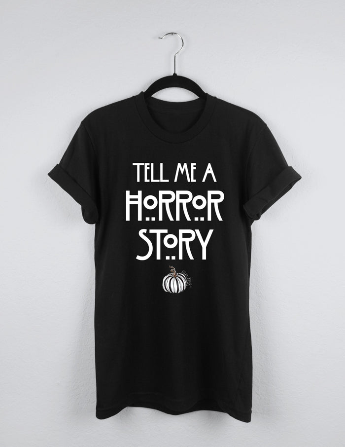 kara ashley, tee, shirt, halloween, scary, horror, american horror story, ahs, pumpkin