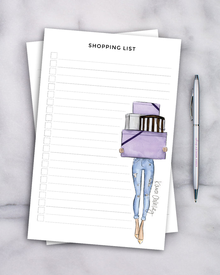 Bergdorfs Shopping List Notepad