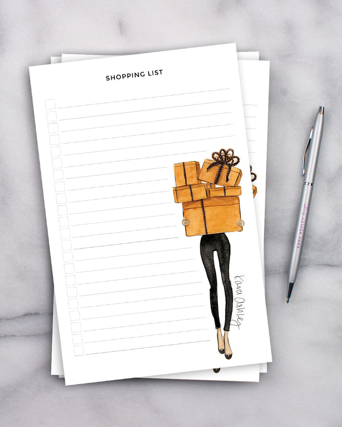 Hermes Shopping List Notepad