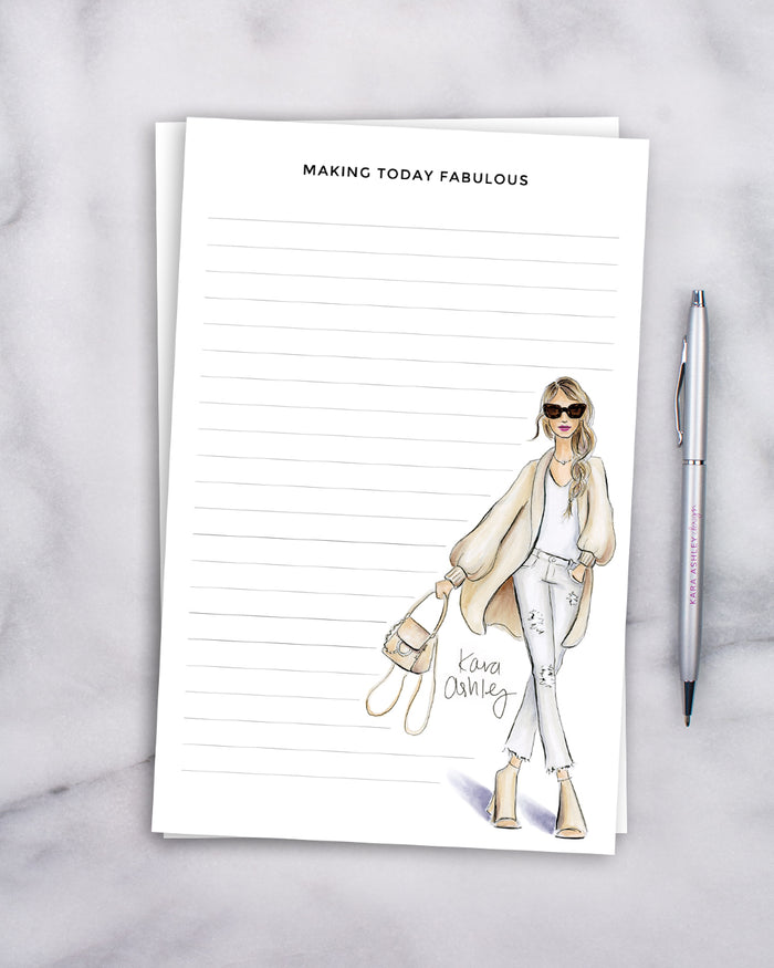 Making Today Fabulous Notepad