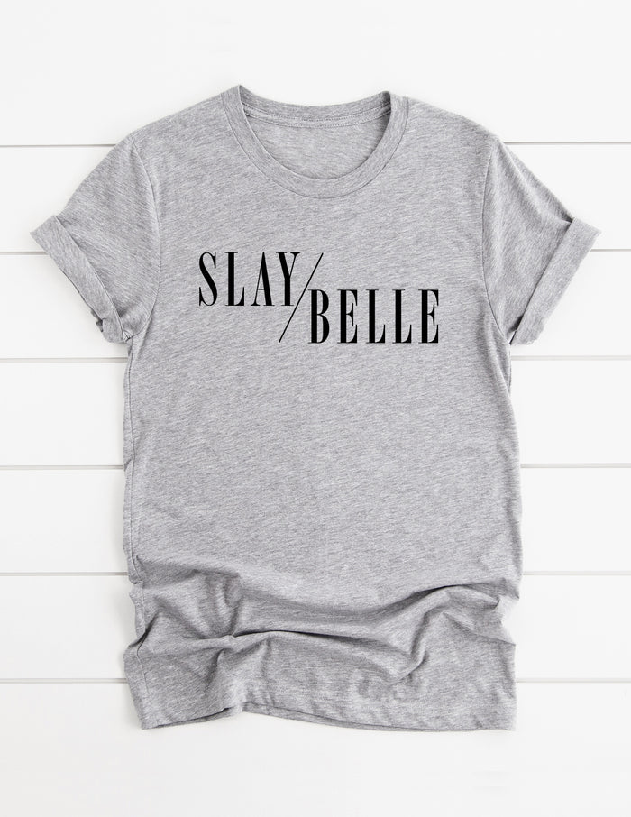 slay belle, sleigh bell, fashion, tee, shirt, christmas, kara ashley, magazine, belle, disney, beauty and the beast