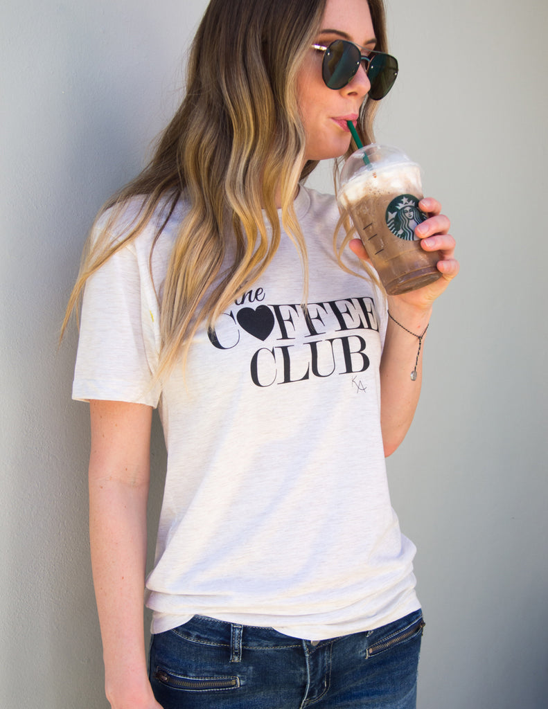 kara ashley, shreeve, design, art, illustration, shirt, tee, t shirt, coffee, club, breakfast, jadore, megan endres