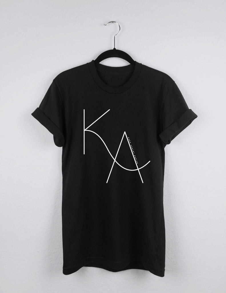 kara ashley, design, tee, merch, t shirt, shirt, illustration, tee, logo, ka, graphic