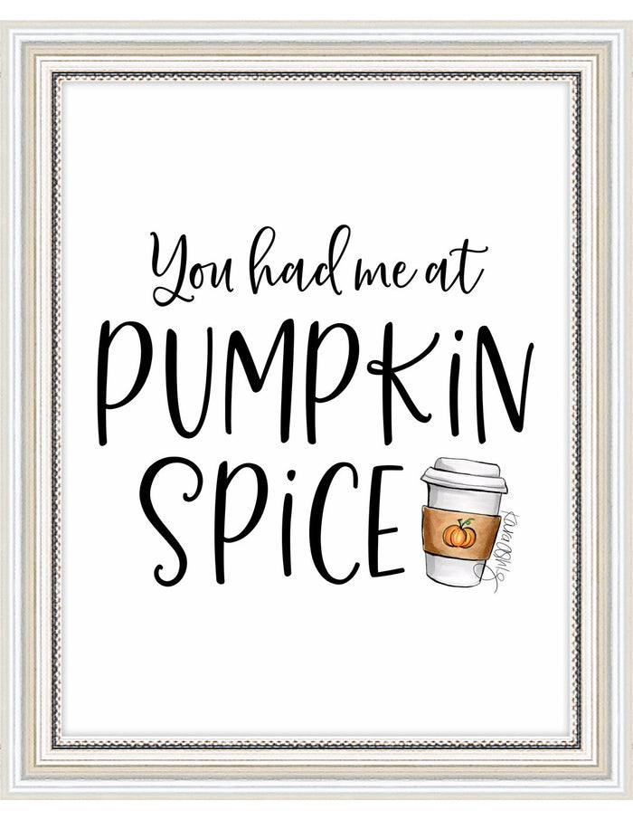 kara ashley, artwork, illustration, art print, fall, pumpkin, leaves, sweater weather, pumpkin spice, psl, text, funny