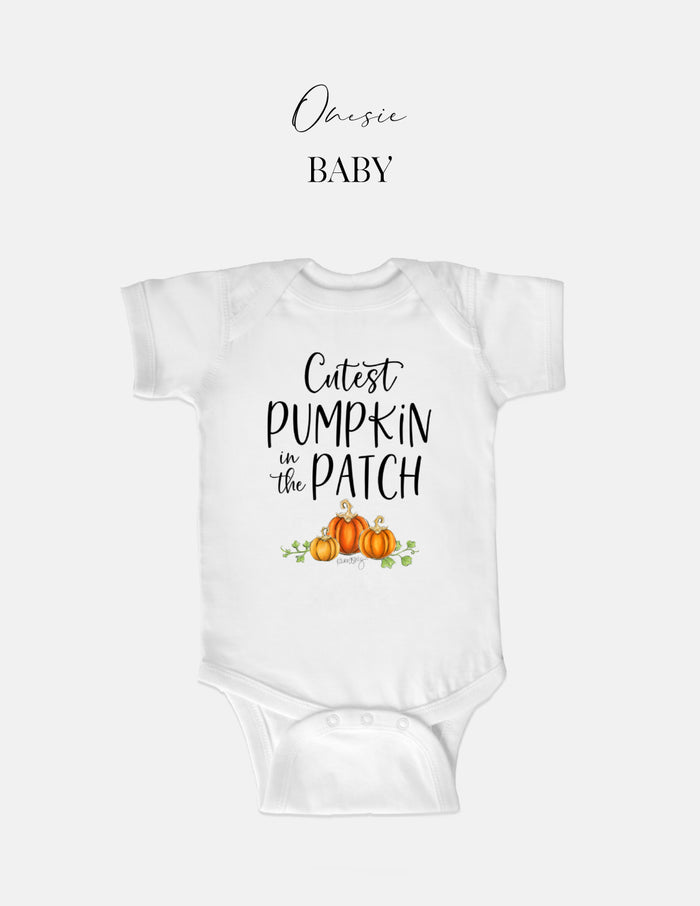 kara ashley, tee, baby, onesie, one piece, pumpkin, pumpkin patch, fall, cute, mommy & me, matching