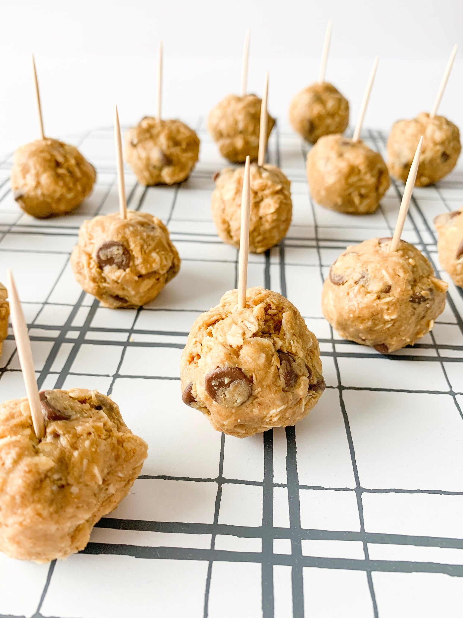 Chocolate Chip Peanut Butter Balls