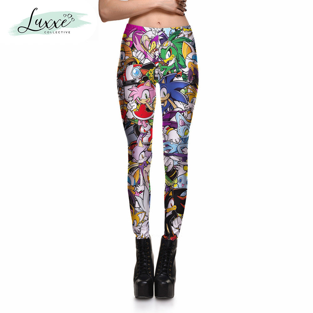 a6df209902fdd Sonic the Hedgehog Stretch-Fit Leggings – Luxxe Collective
