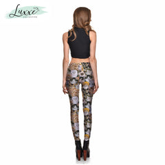 Cat Lady Stretch-Fit Leggings