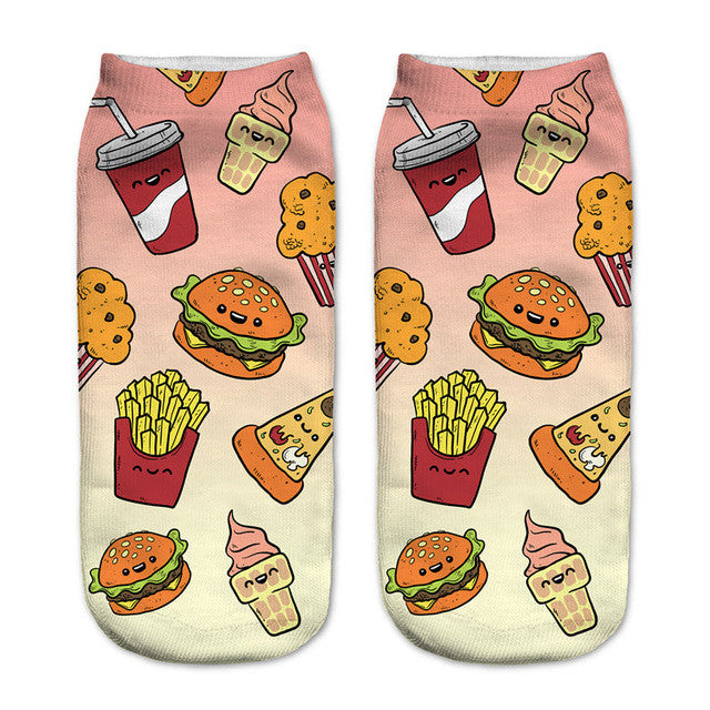 Combo Meal Women's Socks