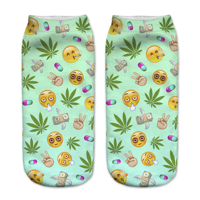 Stoned Emoji Women's Socks