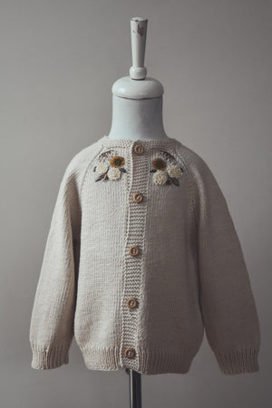 Blair Cardigan - Hand-embroidered