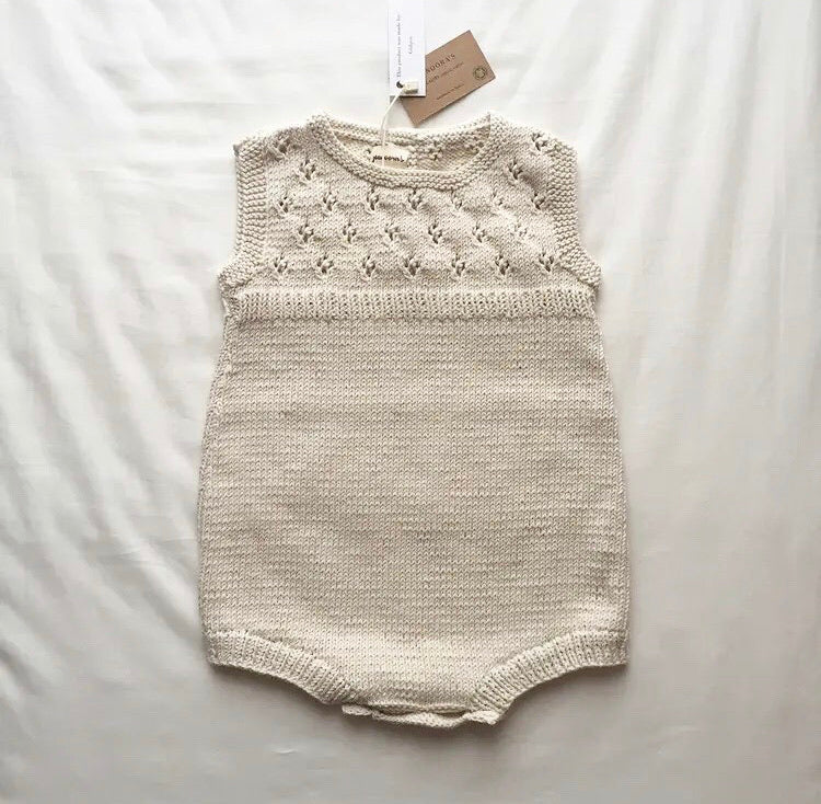 Phoenix Romper, Sleeveless - Natural