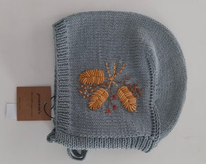 Autumn Bonnet - Ice Blue