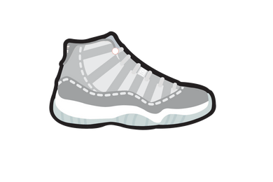 Cool Gray 11's Air Freshener