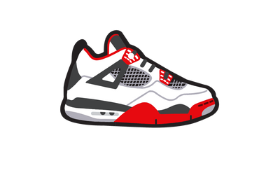 Fire Red 4's Air Freshener