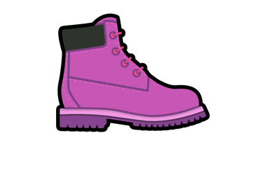 Pink Timbs Air Freshener