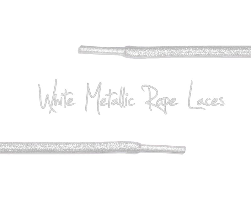 Metallic Rope Shoe Laces