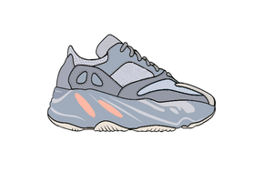 Yeezy Inertia 700 Sneaker Air Freshener - Fresh Heir LLC