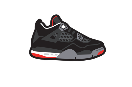 Bred 4's Air Freshener - Fresh Heir LLC
