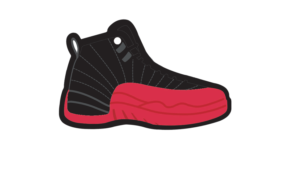 Flu Game 12's Air Freshener - Fresh Heir LLC