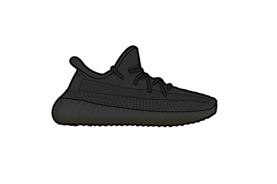 Yeezy Static Black 350 V2 Sneaker Air Freshener