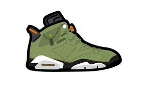 Travis Scott 6's Air Freshener