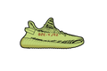 Yeezy Semi Frozen Yellow 350 V2 Sneaker Air Freshener