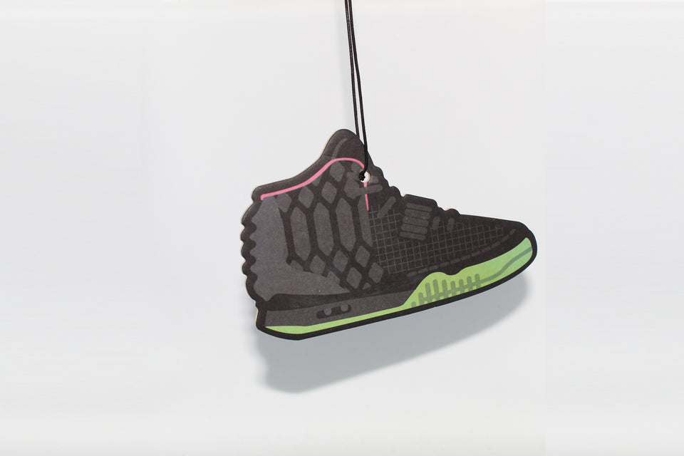 Black Yeezy 2 Air Freshener - Fresh Heir LLC