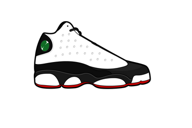 Black Toe 13's Air Freshener