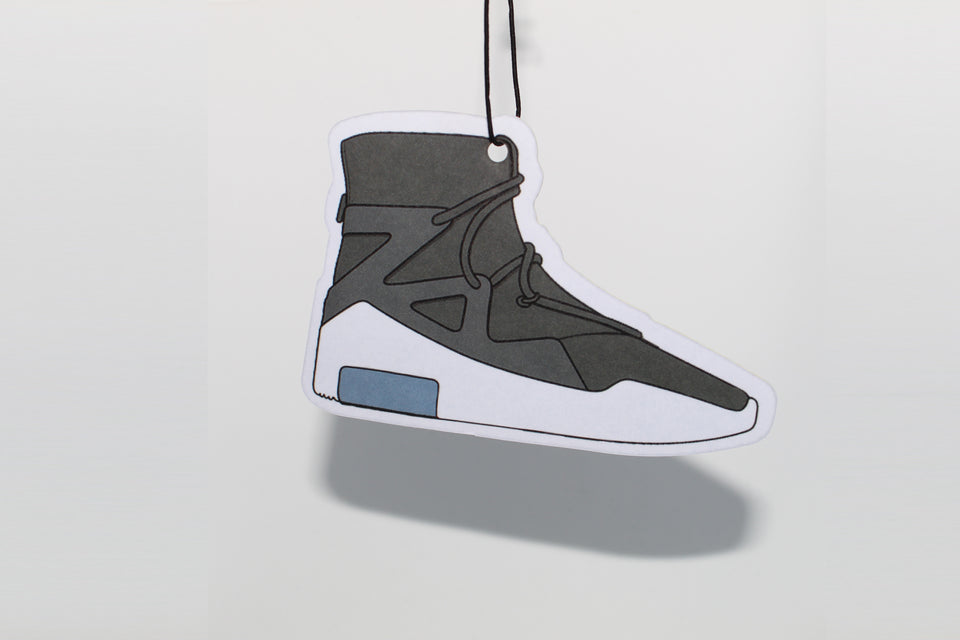 Black Fear of God Sneaker Air Freshener - Fresh Heir LLC