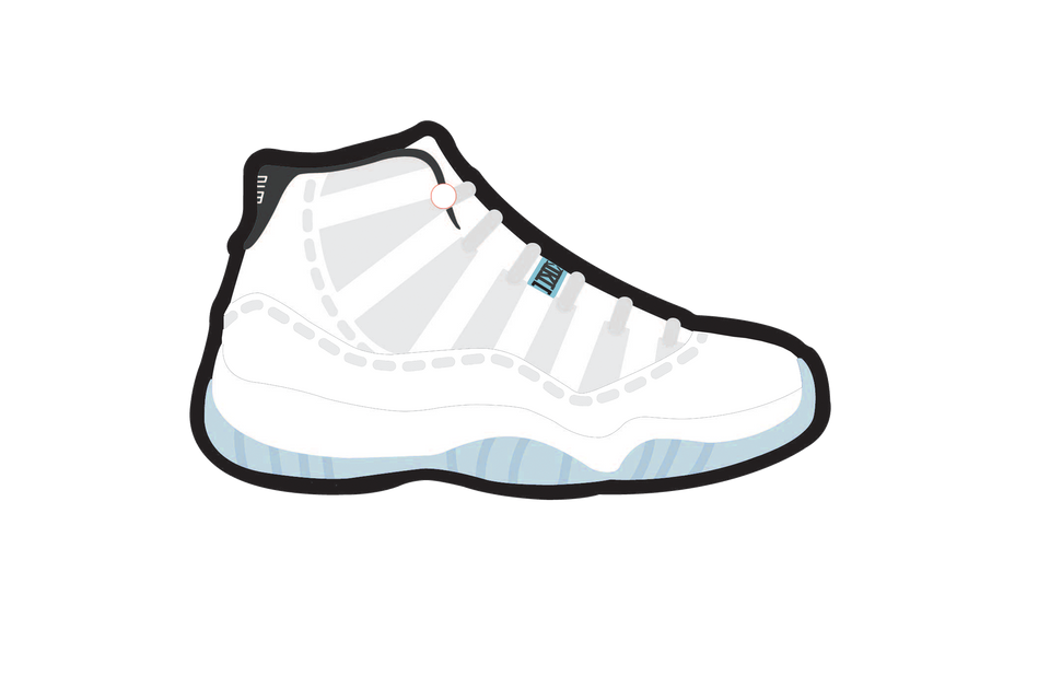 Legend Blue 11's Air Freshener