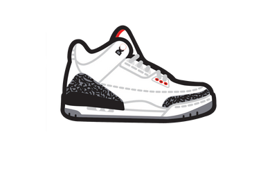 White Cement 3's Air Freshener - Fresh Heir LLC