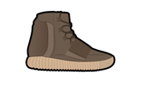 Brown Yeezy 750 Air Freshener