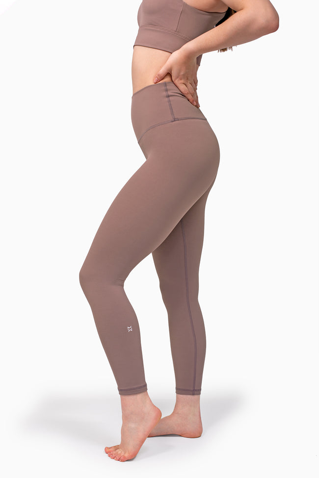 All Day 7/8 Legging - Taupe