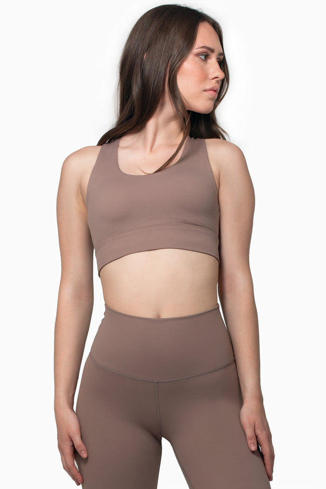 All Day Sports Bra - Taupe