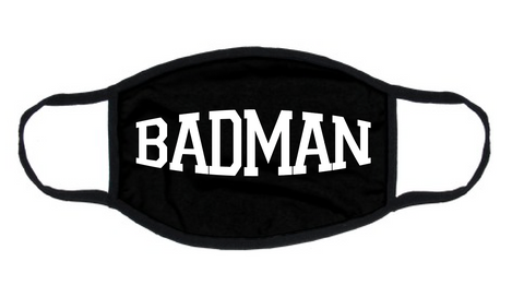 "BADMAN ""REUSABLE"" FACEMASK"