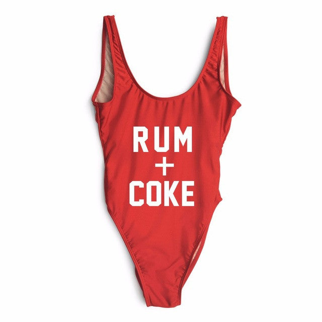 Rum and Coke Swimsuit