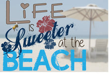 Gift Tag- Life is Sweeter at the Beach