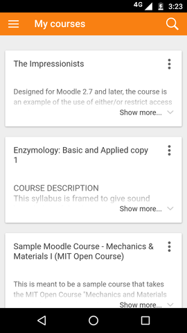 How to activate AES moodle mobile app – Valedra