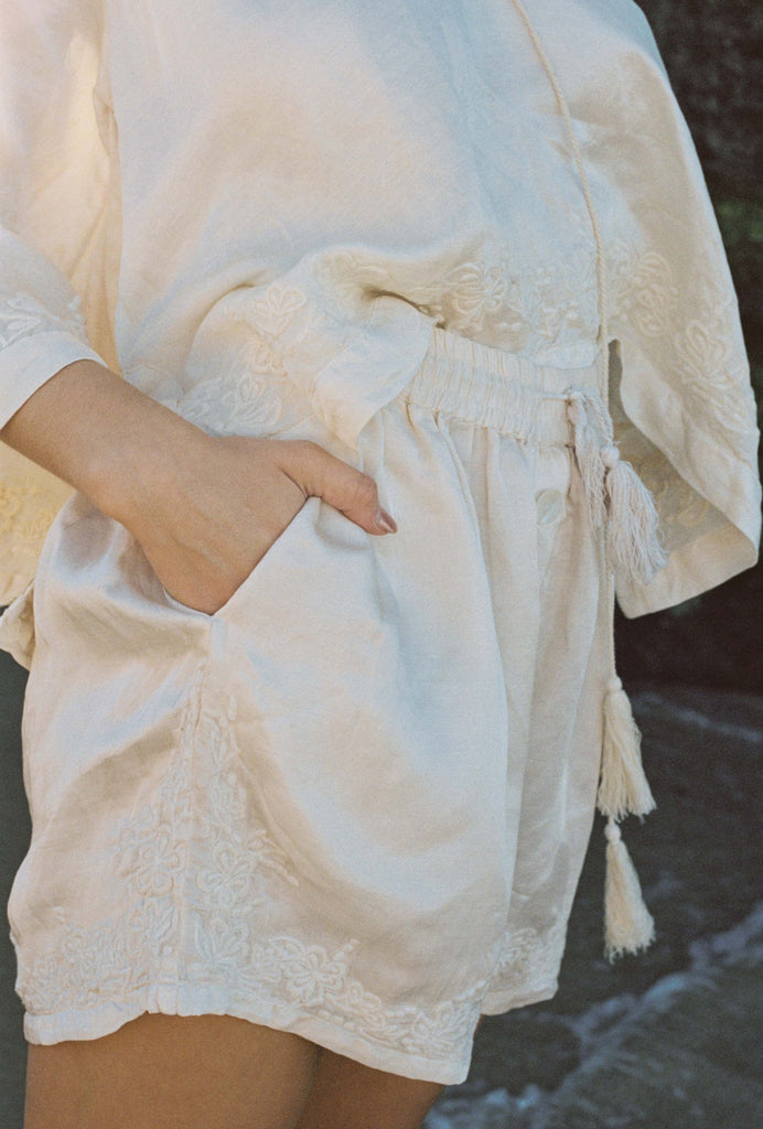 Kinga Csilla Hazel Blouse Cream