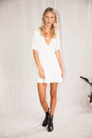 the ambra dress - off white