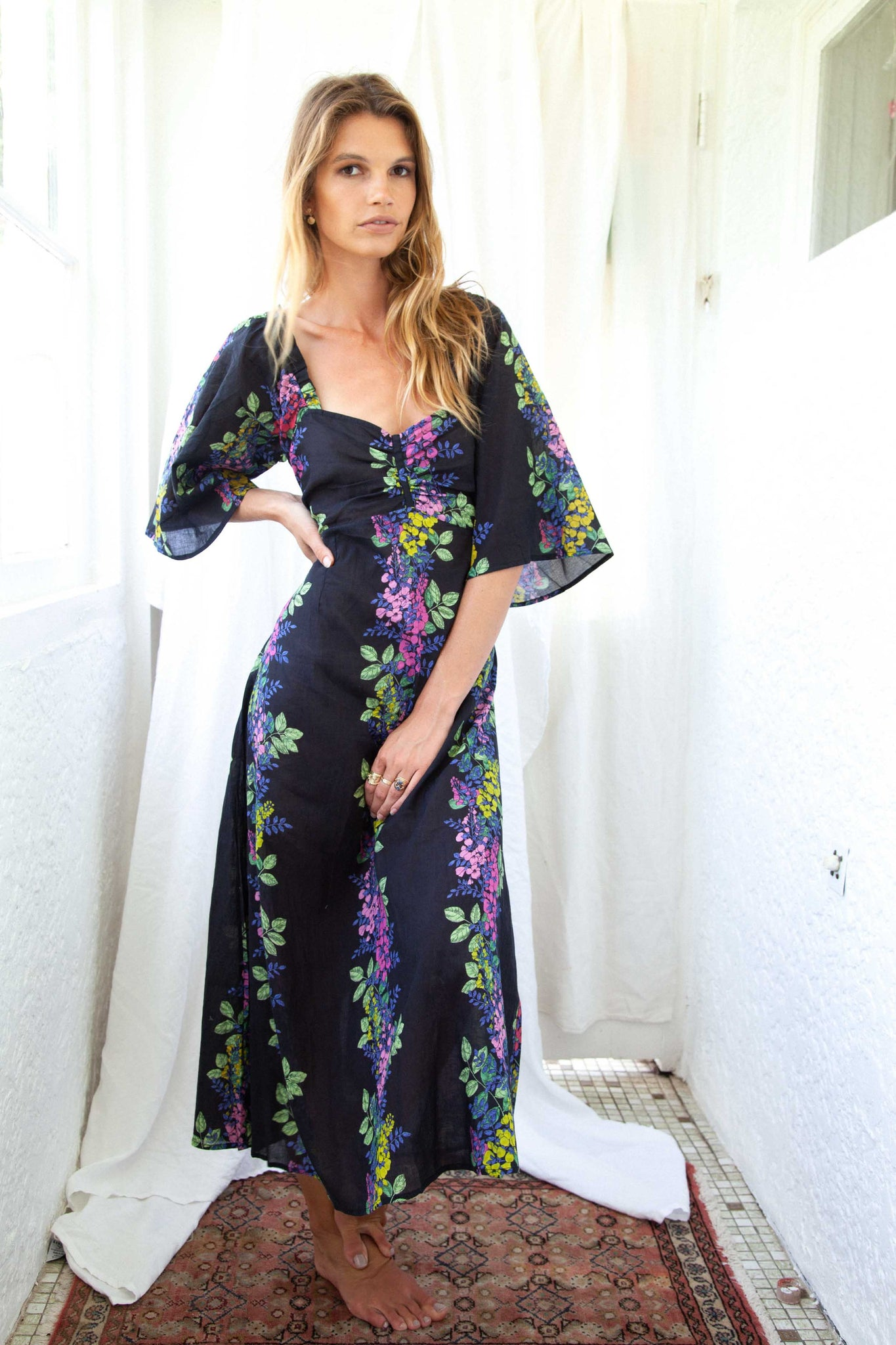 the wild flower delilah dress