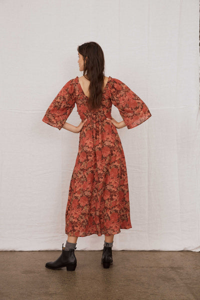 FLORAL DELILAH DRESS