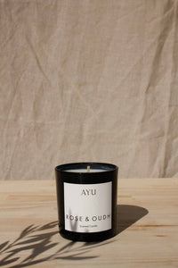 AYU - Rose and Oudh Candle