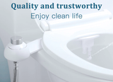 Ultra Slim Toilet Seat Bidet Attachment