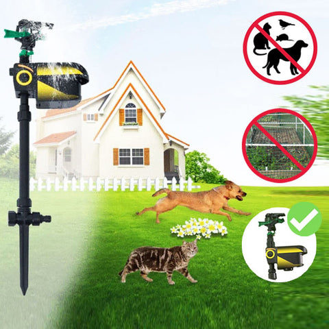 SprayCrow™ Solar Powered Motion Activated Animal Repeller